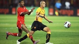 Lors de Soudan-Angola, en demi-finale du CHAN 2011.