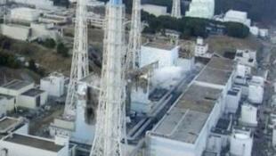 Nuclear power plant in Fukushima, Japan