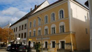 La casa natal de Adolf Hitler en Braunau am Inn, en Austria.