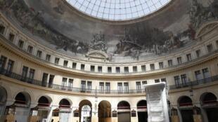 L'ancienne Bourse du commerce et futur musée de la fondation Pinault, à Paris.