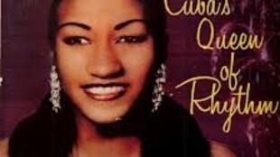 Carátula de uno de los primeros Long Play de Celia Cruz