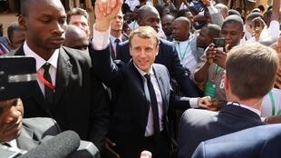 "French President Emmanuel Macron wants to promote a vision called Africa-France, to break with the negative image of ""Françafrique""."