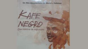 La couverture de la pochette DVD du film «Kafe Negro», de Mario Delatour.