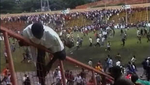 Conakry's stadium on the 28 September 2009