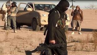 Un combatiente yihadista.