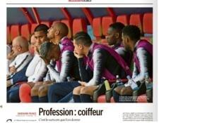 Ảnh chụp màn hình bài viết của Le Monde (26/06/2018)