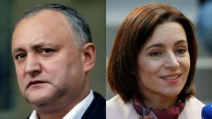 Президент Молдовы Игорь Додон и новый премьер Майя Санду – бывшие соперники на выборах, а ныне союзники