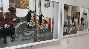 Ajutila exhibition by photographer Hormoz on sexuality and disabilty.