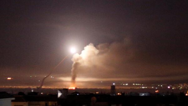 Segundo a Rússia, Israel teria lançado 70 mísseis contra posições iranianas na Síria na madrugada desta quinta-feira (10).