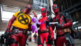 Các fan của Deadpool tại hội chợ Comic-Con Paris tháng 10/2018