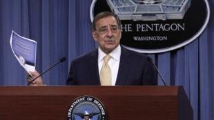 Bộ trưởng Quốc phòng Mỹ Leon Panetta tại Lầu năm góc (Reuters)