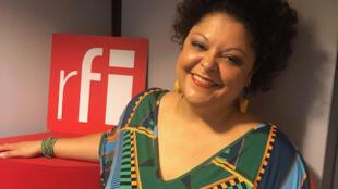 A cantora brasileira Fabiana Cozza.