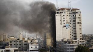 Mais de 1.350 alvos foram atingidos na Faixa de Gaza desde quarta-feira, de acordo com números fornecidos pelo exército.