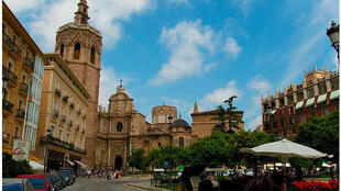 La cathédrale de Valence en Espagne.