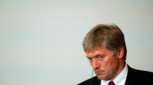 O porta-voz do Kremlin, Dimitri Peskov