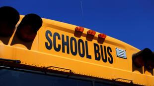 Un bus scolaire aux Etats-Unis.