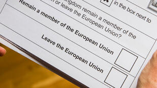 Brexit, bulletin de vote