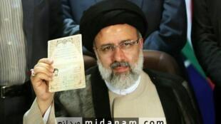 ابراهیم رئیسی، نامزد انتخابات ریاست جمهوری ایران