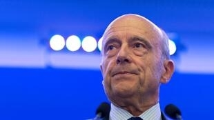 """""""The match has begun!"""" declared right-wing presidential hopeful Alain Juppé on Sunday"""