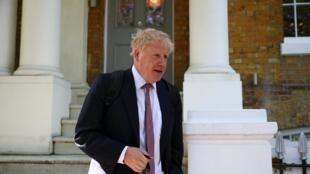 Cựu ngoại trưởng Anh Boris Johnson được cho là người có nhiều khả năng kế nhiệm thủ tướng Theresa May. Ảnh chụp tại Luân Đôn, ngày 30/05/2019.