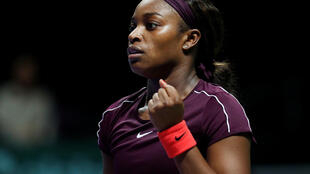 After losing the first eight games against Kaarolina Pliskova, Sloane Stephens won 12 of the next 15 to sweep into Sunday's final of the WTA finals.