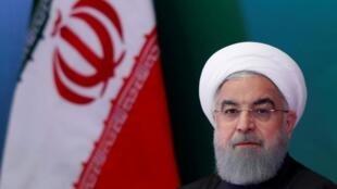 O presidente iraniano, Hassan Rouhani, em foto de arquivo.