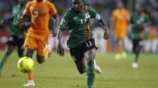 Le Zambien Christopher Katongo.