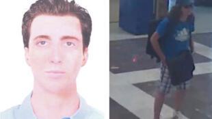 A imagem da Interpol mostra o rosto reconstituído por computador do kamikaze, responsável por atentado anti-israelenses na Bulgária, há quinze dias.