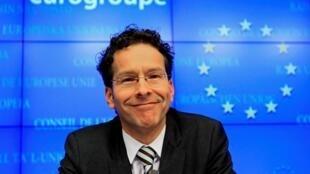歐元區集團主席荷蘭財政大臣戴塞爾布盧姆2013年1月22日布魯塞爾