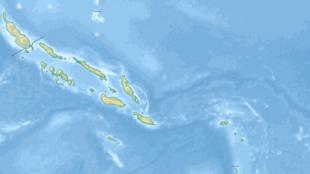 Les îles Salomon, dans l'océan Pacifique.
