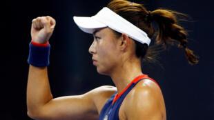 Wang Qiang overcame former world number one Garbine Muguruza to advance to the Hong Kong final.