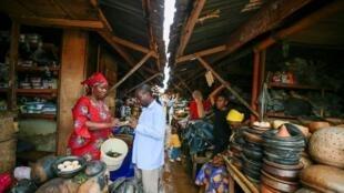 Agbetuwa Samuel, wata mai kula da lafiya a gargajiyance da kuma kasuwanci a Najeriya