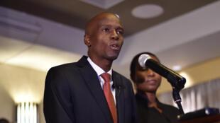 Jovenel Moïse, lors de son discours suivant la proclamation des résultats de la présidentielle haïtienne.