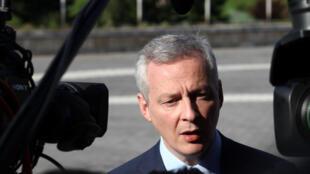 Bruno Le Maire, ministro francês da Economia e das Finanças.
