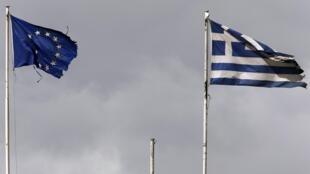 Réclamée notamment par l'Allemagne, la participation du FMI au plan d'aide européen à la Grèce est compromise, le 27 janvier 2017.