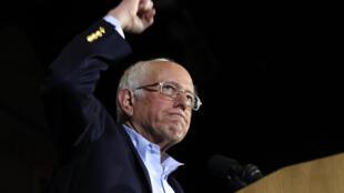 El senador socialista Bernie Sanders se presenta como el candidato favorito de los demócratas.