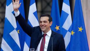 Thủ tướng Tsipras kỳ vọng Hy Lạp làm chủ lại vận mệnh đất nước và tương lai. Ngày 22/06/2018.