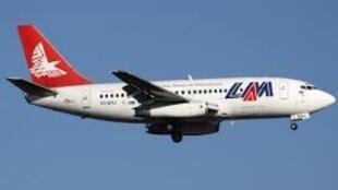 Avião da transportadora aérea moçambicana LAM