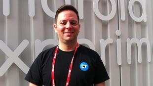 Igor Lopes, editor do Canaltech, no Mobile World Congress, em Barcelona
