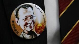 資料圖片:2010年諾貝爾和平獎得主劉曉波。