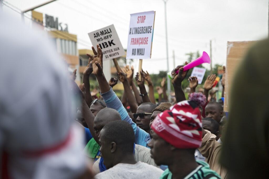 Membros da oposição maliana.
