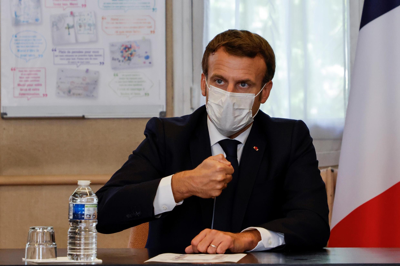 French President Emmanuel Macron, February 2021