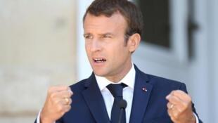 امانوئل ماکرون، رئیس جمهوری فرانسه: فرانسه همیشه در کنار لبنان خواهد بود