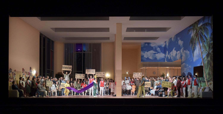 «Троянцы» Гектора Берлиоза в постановке Дмитрия Чернякова на сцене Парижской оперы. Февраль 2019