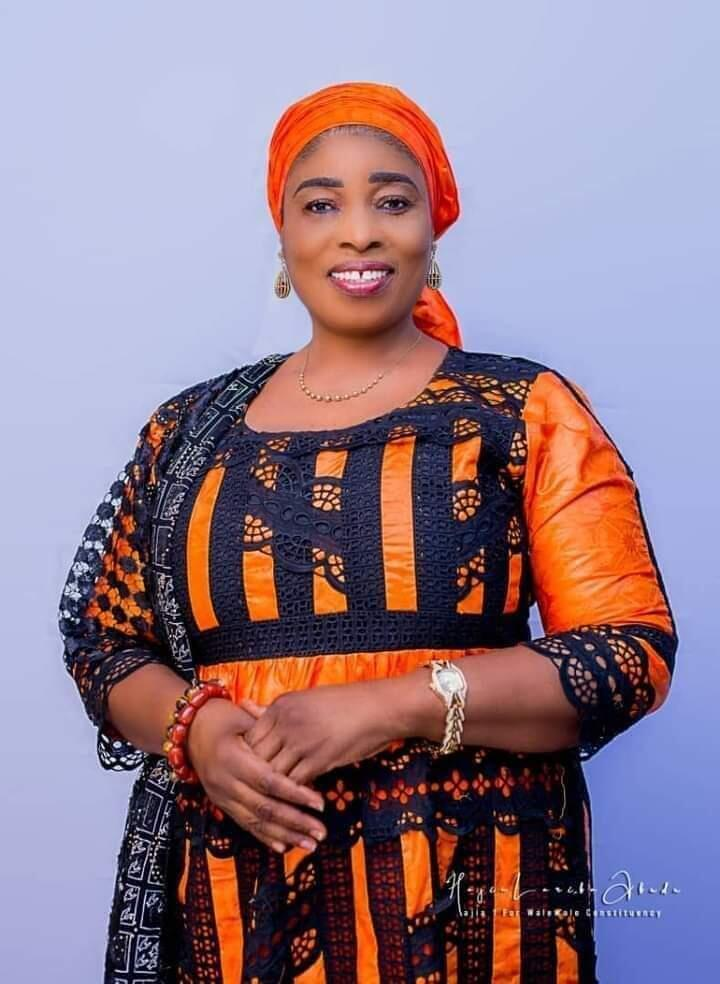 MP Lariba Zuweira Abudu, who represents the Walewale constituency in Ghana's parliament.
