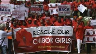 Masu fafutukar ceto 'yan matan Chibok daga Boko Haram