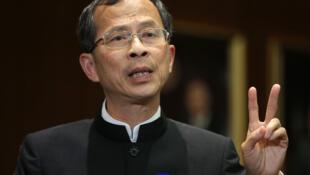 Ông Tăng Ngọc Thành (Jasper Tsang), Chủ tịch Hội đồng Lập pháp của đặc khu hành chánh Hồng Kông.