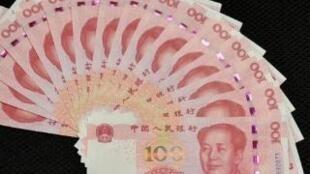 關於中國人民幣報道圖片