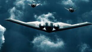 美国B-2隐形战略轰炸机