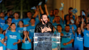 Nayib Bukele cierra su campaña electoral, el pasado 26 deenero de 2019 en San Salvador.